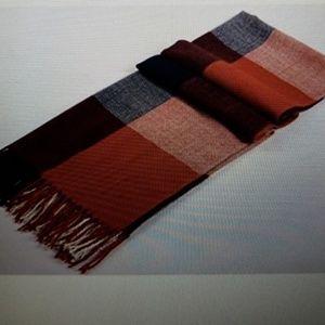 Wander agio women's fashion grid scarf